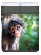 Hanging Spider Monkey Duvet Cover