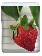Hanging Strawberry Duvet Cover