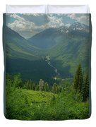 Hanging Valley Duvet Cover