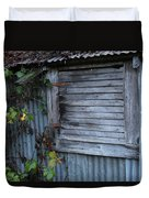 Hangtown Shed Duvet Cover