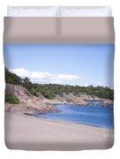 Hanko Beach Duvet Cover
