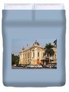 Hanoi Opera House 04  Duvet Cover