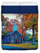Hanover Church - Fall Duvet Cover