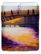 Ha'penny Bridge Dublin Duvet Cover