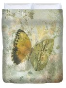Happiness Is A Butterfly Duvet Cover