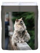 Happy Cat Duvet Cover