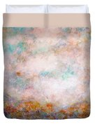 Happy Dancing Clouds Duvet Cover