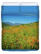 Happy Days In Walker Canyon Duvet Cover