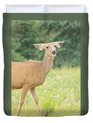 Happy Deer Duvet Cover