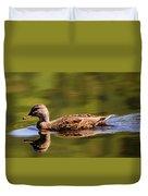 Happy Duck Duvet Cover