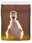 Happy Easter - Cute Baby Gosling Duvet Cover