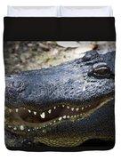 Happy Florida Gator Duvet Cover