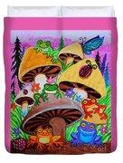 Happy Frog Valley Duvet Cover
