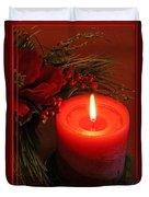 Happy Holidays #1 Duvet Cover by Teresa Zieba