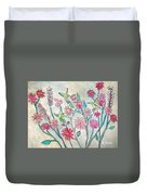 Happy Hummingbirds Duvet Cover