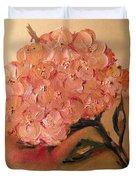 Happy Hydrangea  Duvet Cover
