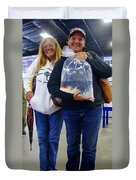 Happy Koi Buyers Duvet Cover