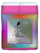 Happy Mother's Day   2 Duvet Cover