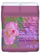 Happy Mothers Day 2 Duvet Cover