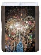 Happy New Year From Walt Disney World Duvet Cover