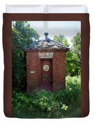 Happy Outhouse Duvet Cover