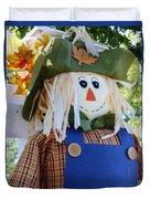 Happy Scarecrow Duvet Cover