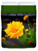 Happy Spring Flower Duvet Cover