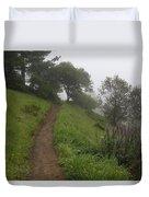 Happy Trail Duvet Cover