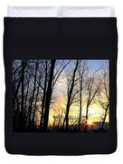 Happy Trails Sunset Duvet Cover