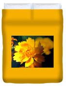 Happy Yellow Flower Duvet Cover