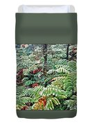 Hapu'u Fern Rainforest Duvet Cover