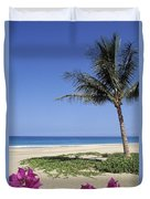 Hapuna Beach Duvet Cover