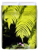 Hapuu Ferns Duvet Cover