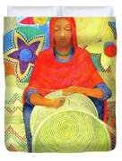 Harar Lady 2 Duvet Cover