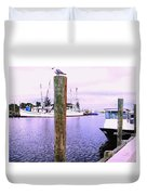 Harbor Master Duvet Cover
