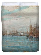 Harbor Of A Thousand Masts Duvet Cover