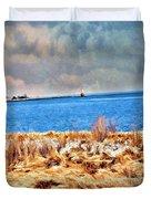 Harbor Of Tranquility Duvet Cover
