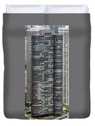 Harbor Point Condominium In Chicago Duvet Cover