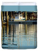 Harbor Reflections Duvet Cover