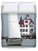 Harbor Sailor Duvet Cover