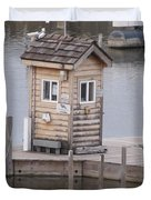 Harbor Shack Duvet Cover