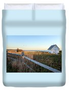 Harbor Shed Duvet Cover