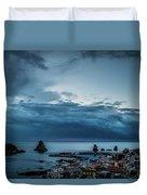 Harbor Sunrise Duvet Cover