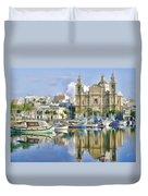 Harborside Msida Malta Duvet Cover