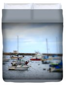 Harbour Boats Duvet Cover