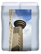 Harbour Centre Vancouver Duvet Cover