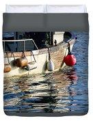 Harbour Reflections 3 - June 2015 Duvet Cover