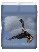 Hard Banking Eagle Duvet Cover