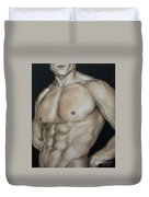 Hard Body Duvet Cover