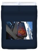 Hard Rock Cafe N Y C Duvet Cover